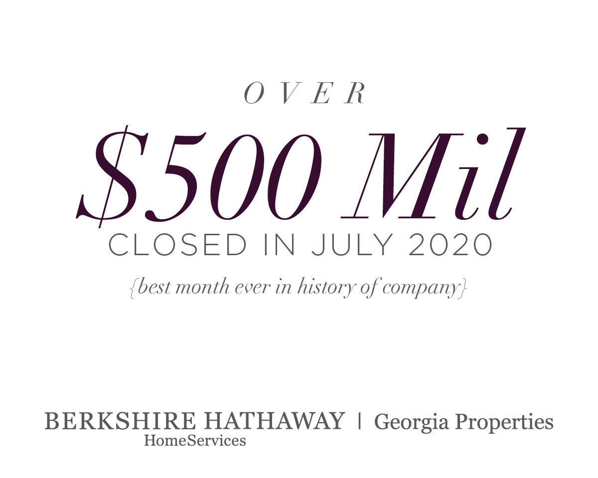 Atlanta Real Estate Blog Berkshire Hathaway Homeservices Georgia Properties Has Record Breaking Month Atlanta Real Estate Blog